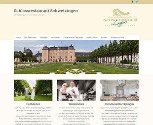 http://schlossrestaurant-schwetzingen.de/ - Relaunch