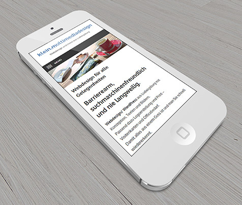 Responsive Design Smartphone