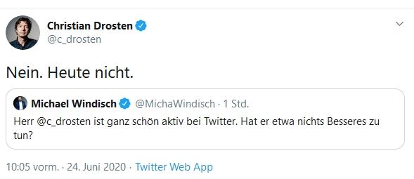 drosten twitter